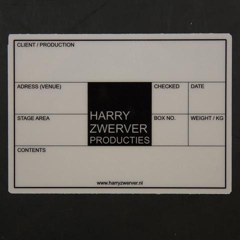 HARRY ZWERVER PRODUCTIES