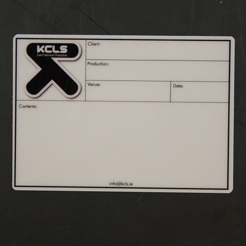 KCLS EVENT TECHNICAL PRODUCTION