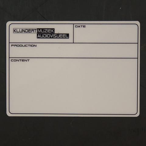 KLUNDERT MUZIEK / AUDIOVISUEEL