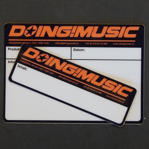 DOING MUSIC