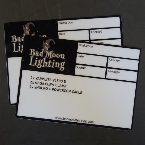 BAD MOON LIGHTING