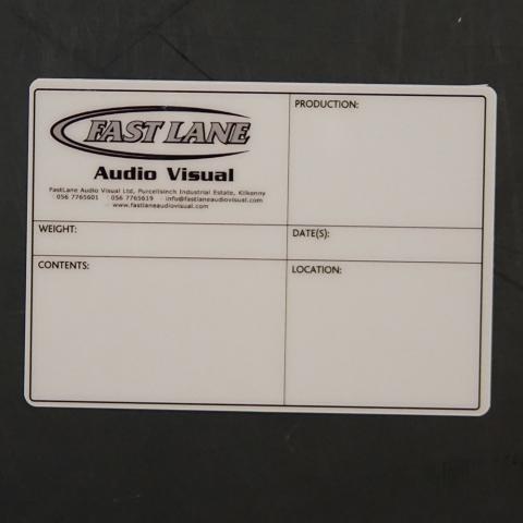 FASTLANE AUDIO VISUAL