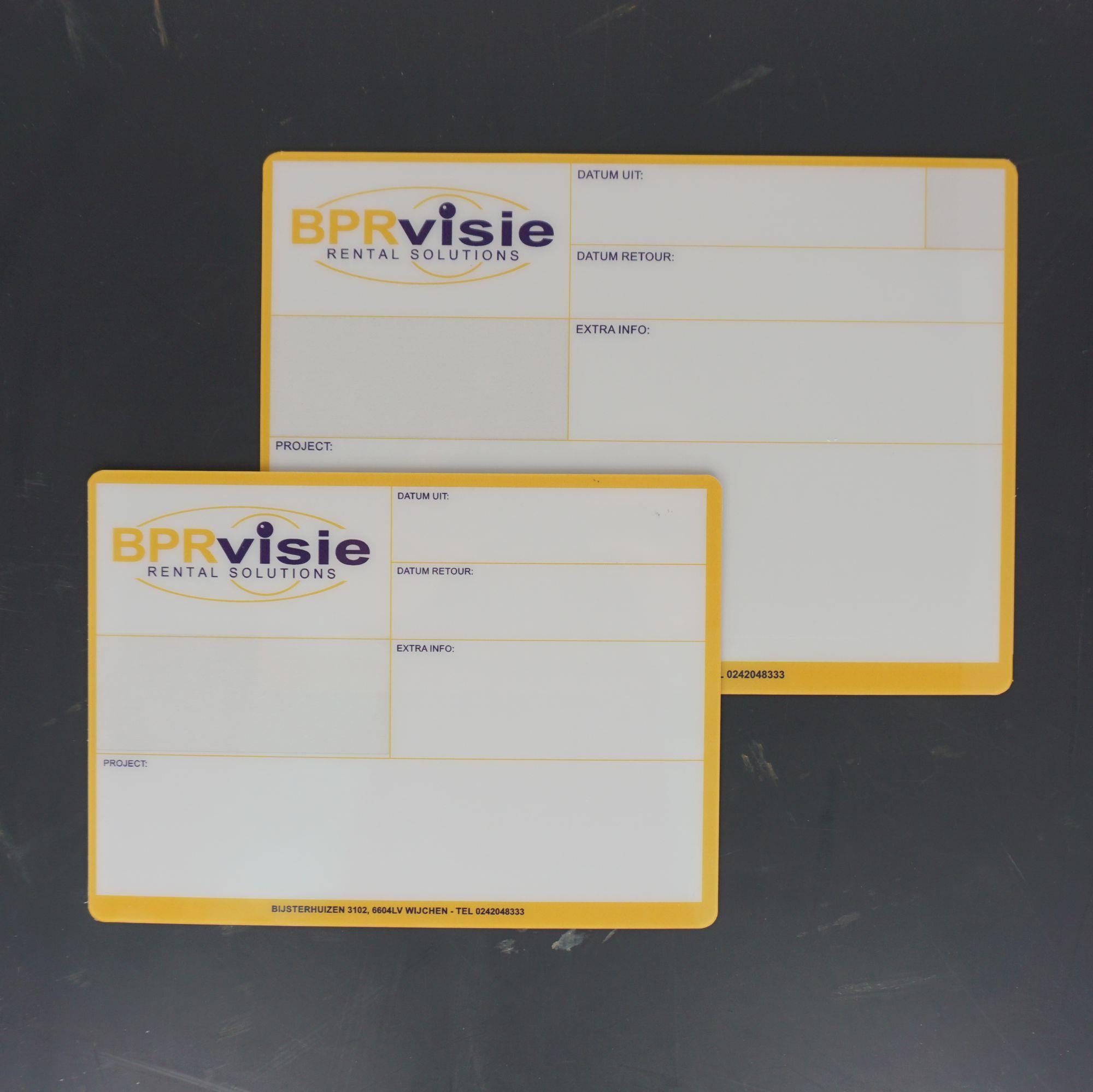 Flightcaselabels Caselabels BPR Visie