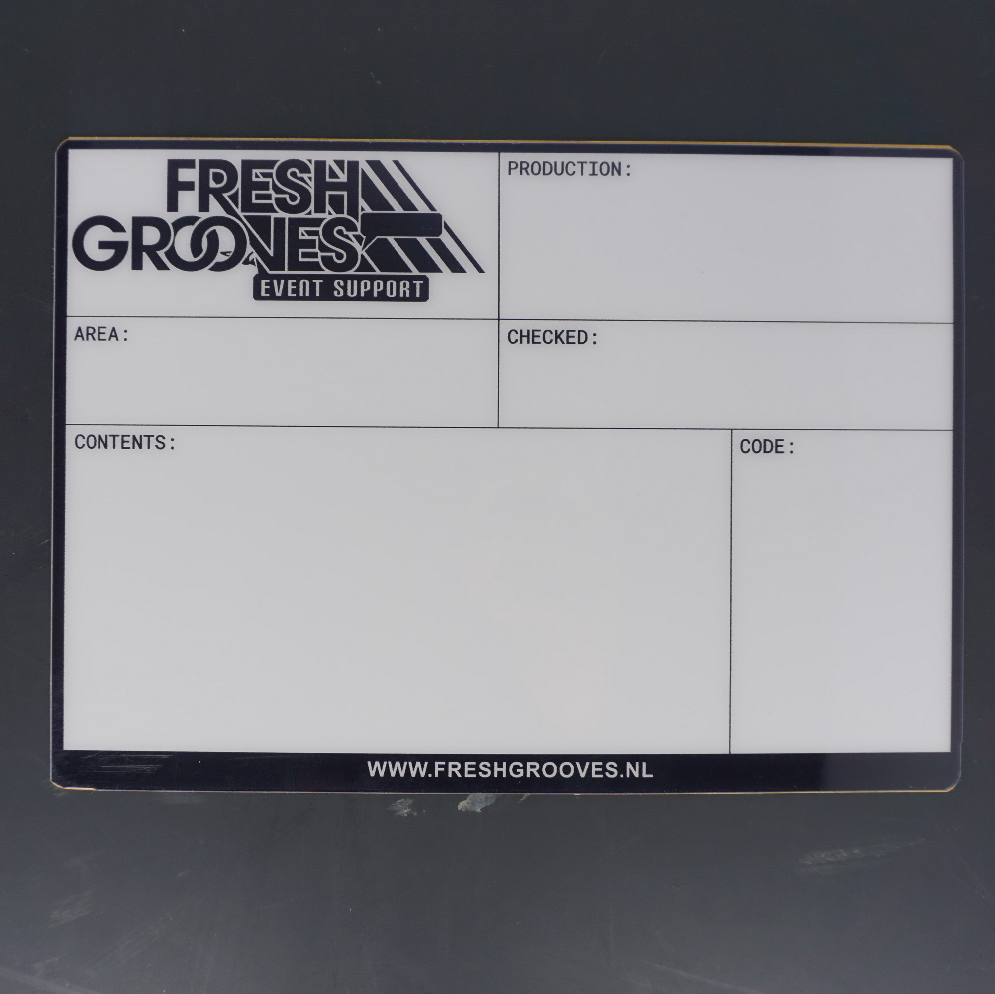 Flightcaselabels Caselabels Fresh Grooves
