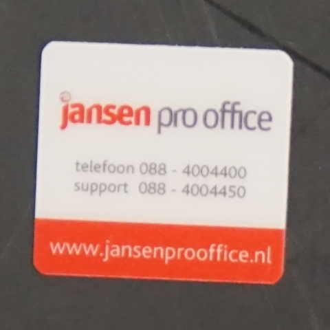 Flightcaselabels Caselabels JANSEN PRO OFFICE