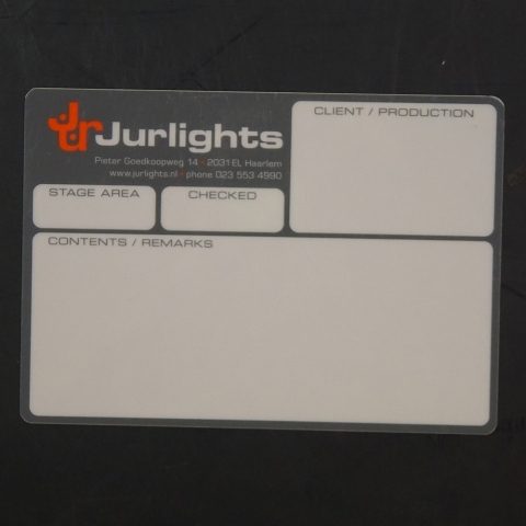 Flightcaselabels Caselabels JURLIGHTS