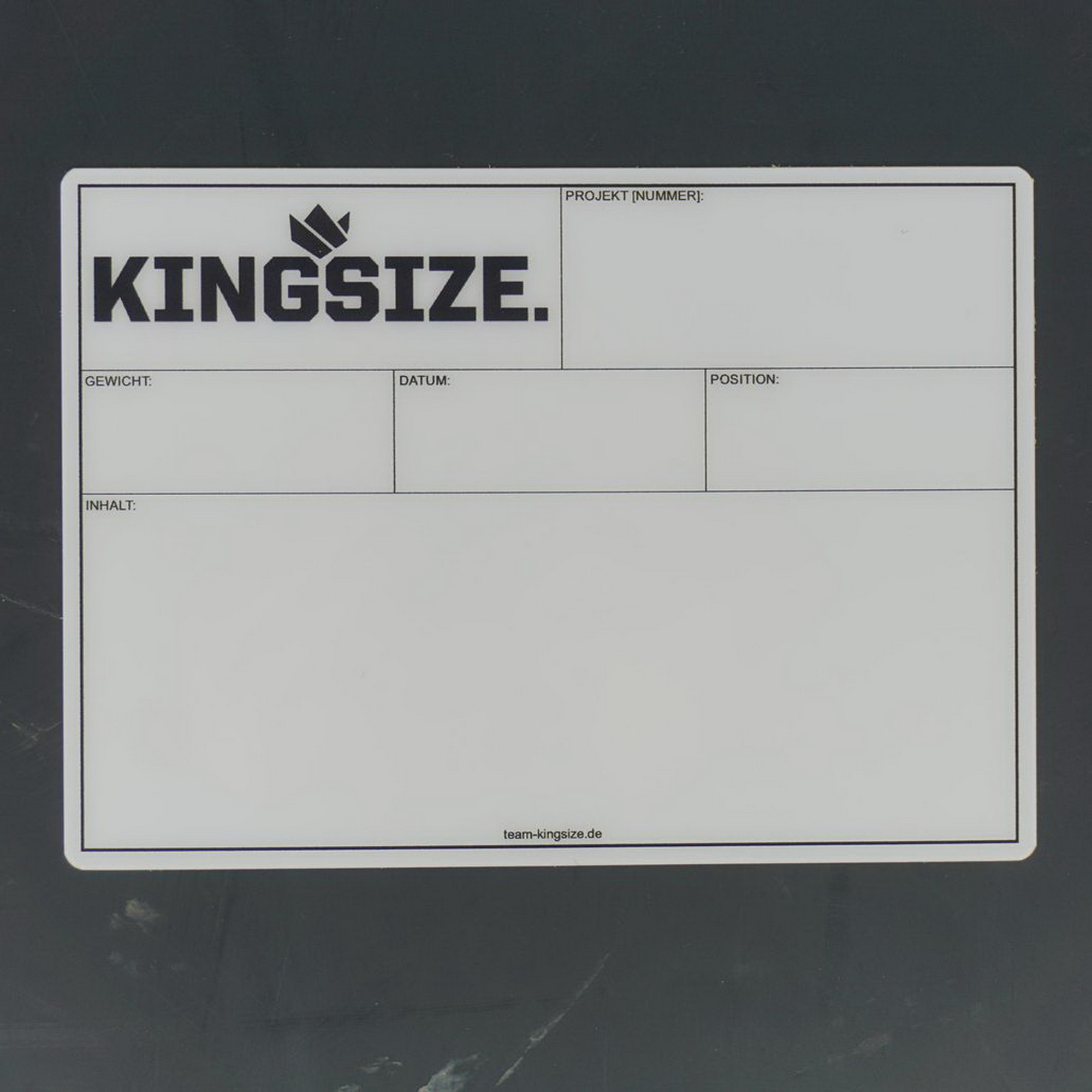Flightcaselabels Caselabels Kingsize