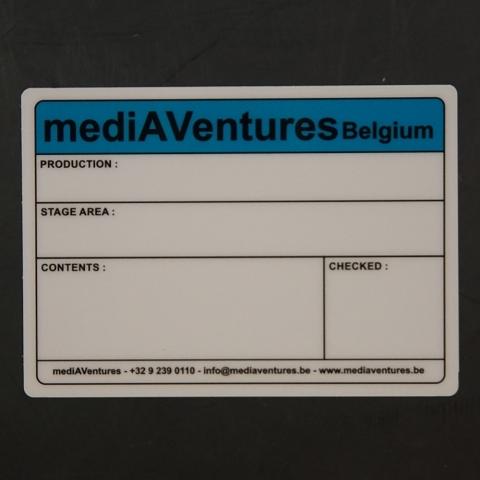 Flightcaselabels Caselabels MEDIAVENTURES