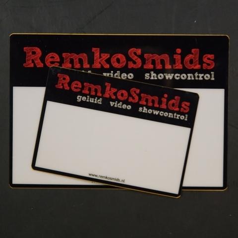 Flightcaselabels Caselabels REMKO SMIDS