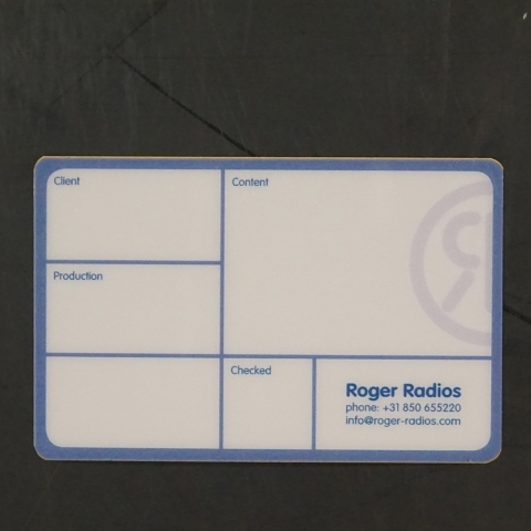 Flightcaselabels Caselabels ROGER RADIOS