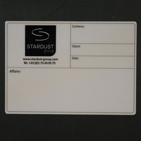 Flightcaselabels Caselabels STARDUST