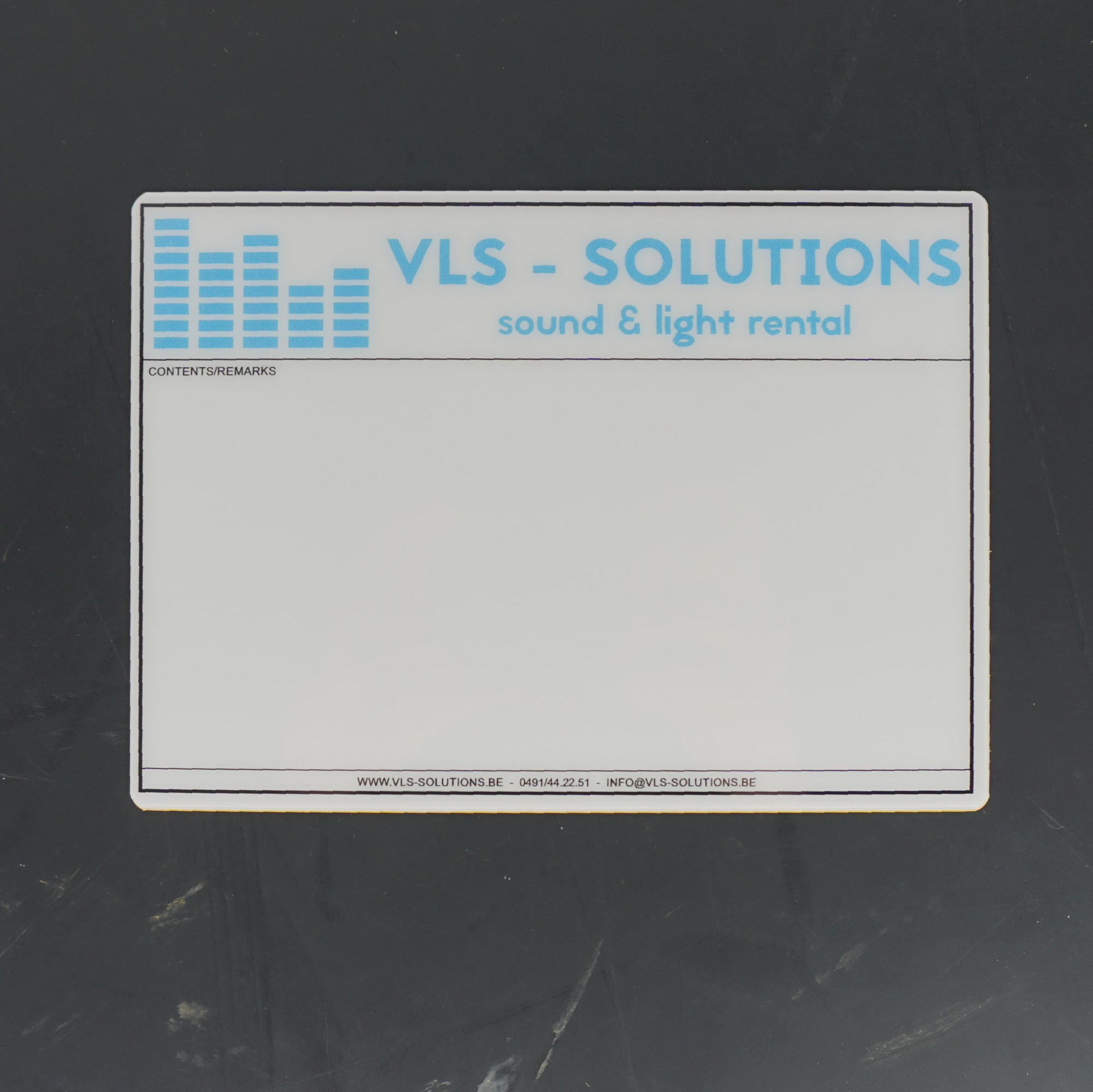 Flightcaselabels Caselabels VLS solutions