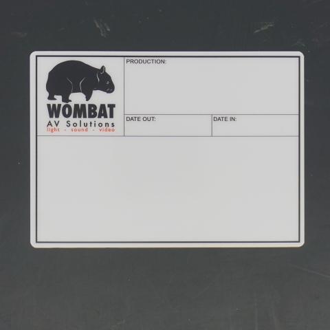 Flightcaselabels Caselabels Wombat