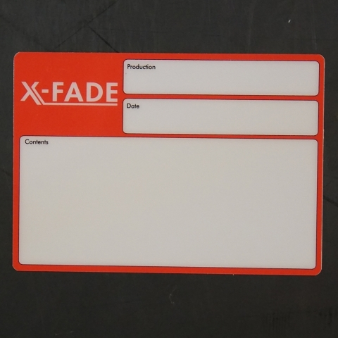 Flightcaselabels Caselabels X-FADE